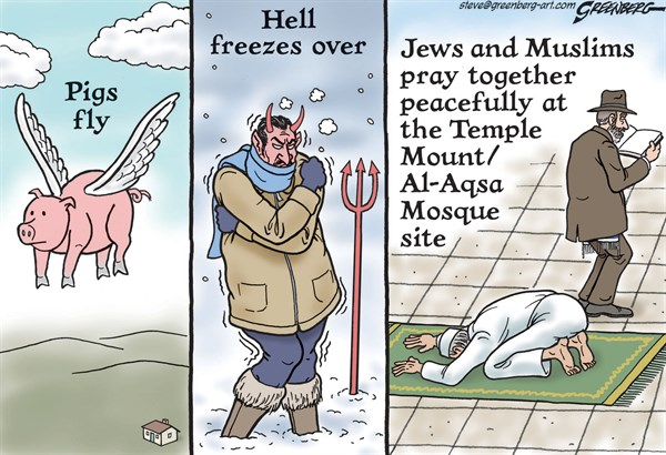 156265 600 Temple Mount peace cartoons