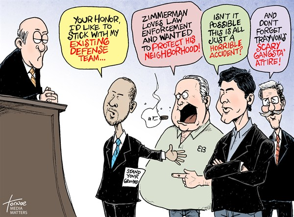 109919 600 Trayvon: Zimmermans Fox News Defense cartoons