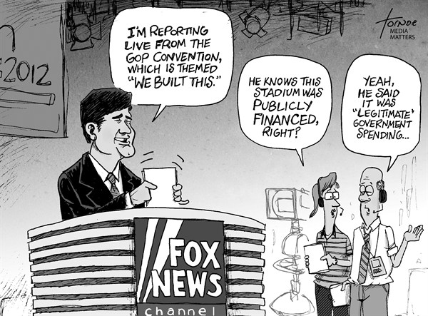 Rob Tornoe - Media Matters - GOP Convention - English - Convention,GOP,RNC,Republican,Sean Hannity,Fox News,Tampa