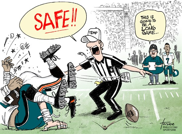 118358 600 Opening Day NFL Cartoons cartoons