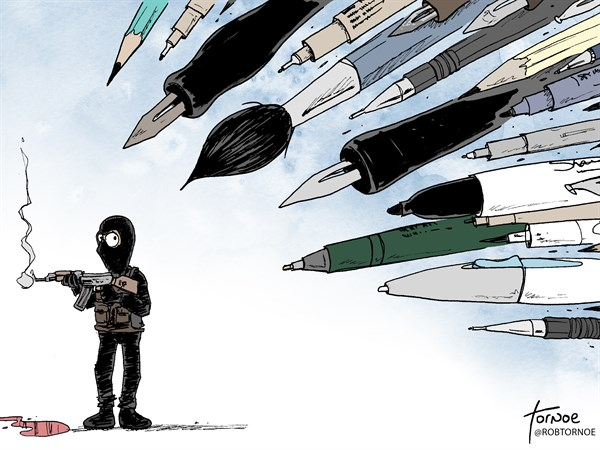 158296 600 Charlie Hebdo Paris terrorist attack cartoons